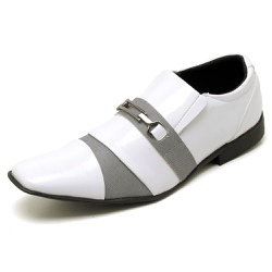 Sapato Social Masculino Top Franca Shoes Verniz Br... - Top Franca Shoes   Calçados confortáveis em Couro