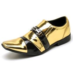 Sapato Social Masculino Top Franca Shoes Verniz Pr... - Top Franca Shoes | Calçados confortáveis em Couro