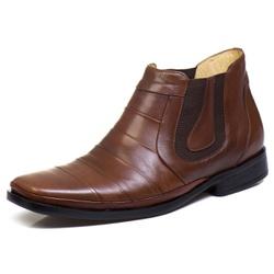 Bota Botina Social Masculino Bico Fino Conforto To... - Diconfort Calçados | Calçados confortáveis e anatômicos