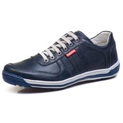 Sapatênis Casual Conforto Masculino Marinho - Diconfort Calçados | Calçados confortáveis e anatômicos