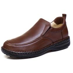 Sapato Social Masculino de Calçar Ortopédico Flexí... - Top Franca Shoes | Calçados confortáveis em Couro