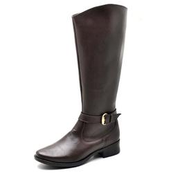 Bota Feminina Montaria Top Franca Shoes Cafe - Top Franca Shoes | Calçados confortáveis em Couro
