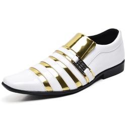 Sapato Social Masculino Top Franca Shoes Verniz Br... - Top Franca Shoes | Calçados confortáveis em Couro