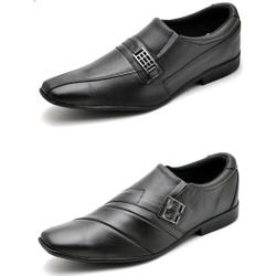 Kit 2 Pares Sapato Social Masculino Top Franca Sho... - Top Franca Shoes | Calçados confortáveis em Couro