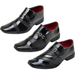 Kit com 3 Sapatos Sociais - Top Franca Shoes | Calçados confortáveis em Couro
