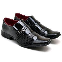 Sapato Social Masculino em Verniz - Top Franca Shoes | Calçados confortáveis em Couro