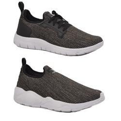 Kit 2 Pares Tênis Esporte Fitnes Top Franca Shoes ... - Top Franca Shoes | Calçados confortáveis em Couro