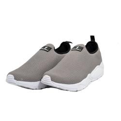 Tênis Esporte Fitnes Top Franca Shoes Cinza - Top Franca Shoes | Calçados confortáveis em Couro