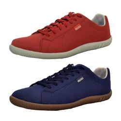 Kit 2 Pares Sapatênis Casual Top Franca Shoes Verm... - Top Franca Shoes | Calçados confortáveis em Couro