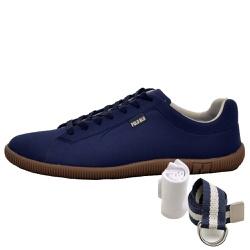 Kit Sapatênis Casual Azul + Cinto e Meia - Top Franca Shoes | Calçados confortáveis em Couro