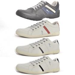 Kit 4 Pares Sapatênis Casual Top Franca Shoes Pret... - Top Franca Shoes | Calçados confortáveis em Couro