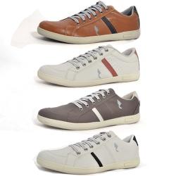 Kit 4 Pares Sapatênis Casual Top Franca Shoes Came... - Top Franca Shoes   Calçados confortáveis em Couro