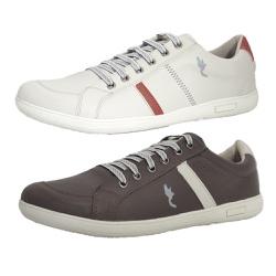 Kit 2 Pares Sapatênis Casual Top Franca Shoes Cinz... - Top Franca Shoes | Calçados confortáveis em Couro