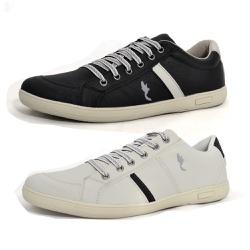 Kit 2 Pares Sapatênis Casual Top Franca Shoes Cinz... - Top Franca Shoes   Calçados confortáveis em Couro
