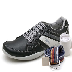 Kit Sapatênis Infantil Casual Top Franca Shoes Pre... - Top Franca Shoes | Calçados confortáveis em Couro