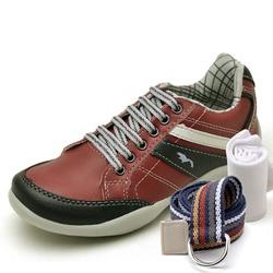 Kit Sapatênis Infantil Casual Top Franca Shoes Ver... - Top Franca Shoes | Calçados confortáveis em Couro