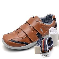 Kit Sapatênis Infantil Casual Top Franca Shoes Cam... - Top Franca Shoes | Calçados confortáveis em Couro