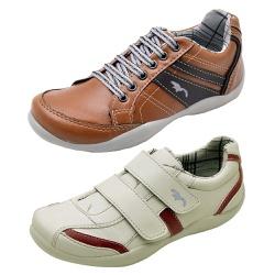 Kit 2 Pares Sapatênis Casual Infantil Top Franca S... - Top Franca Shoes | Calçados confortáveis em Couro