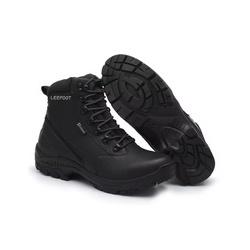 Bota Motociclista Impermeável Resistente a Água Tr... - Top Franca Shoes | Calçados confortáveis em Couro