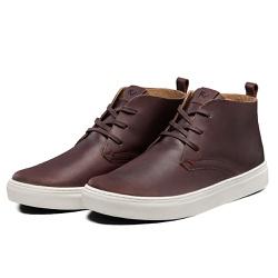Tênis Sapatênis Lomen Bota Asafe Pinhão - Top Franca Shoes | Calçados confortáveis em Couro