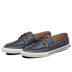 Tênis Sapatênis Lomen Sider Asher Marinho - Top Franca Shoes | Calçados confortáveis em Couro