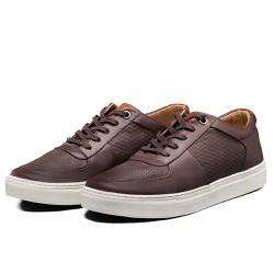 Tênis Sapatênis Lomen Sneakers Baruc Café - Diconfort Calçados | Calçados confortáveis e anatômicos