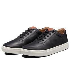 Tênis Sapatênis Lomen Sneakers Baruc Preto - Diconfort Calçados | Calçados confortáveis e anatômicos