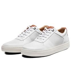 Tênis Sapatênis Lomen Sneakers Baruc Branco - Diconfort Calçados | Calçados confortáveis e anatômicos