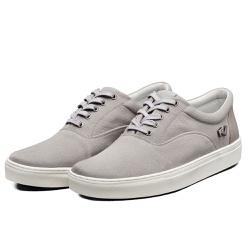 Tênis Sapatênis Lomen Sneakers Boaz Cinza - Top Franca Shoes | Calçados confortáveis em Couro