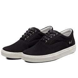 Tênis Sapatênis Lomen Sneakers Boaz Preto - Top Franca Shoes | Calçados confortáveis em Couro