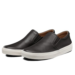 Tênis Sapatênis Lomen Slip On Neftali Preto - Diconfort Calçados | Calçados confortáveis e anatômicos
