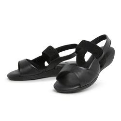 Sandália Top Franca Shoes Feminina Conforto Preto - Top Franca Shoes | Calçados confortáveis em Couro