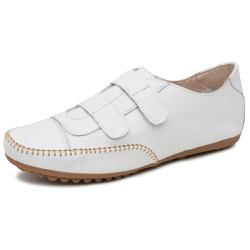 Mocatênis Feminino Top Franca Shoes Branco - Diconfort Calçados | Calçados confortáveis e anatômicos