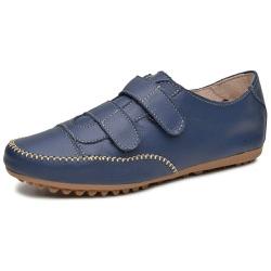 Mocatênis Feminino Top Franca Shoes Azul Marinho - Top Franca Shoes | Calçados confortáveis em Couro
