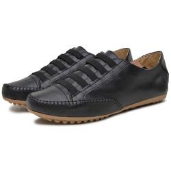 Mocatênis Feminino Top Franca Shoes Preto - Top Franca Shoes | Calçados confortáveis em Couro