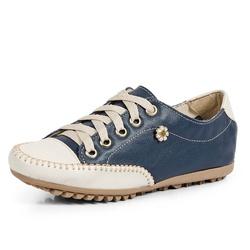 Mocatênis Feminino Top Franca Shoes Azul Marinho e... - Diconfort Calçados | Calçados confortáveis e anatômicos