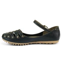 Sandália Sapatilha Feminina Top Franca Shoes Preto - Diconfort Calçados | Calçados confortáveis e anatômicos