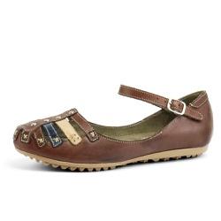 Sandália Sapatilha Feminina Top Franca Shoes Café - Diconfort Calçados | Calçados confortáveis e anatômicos
