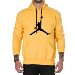 Moletom Masculino Jordan - Amarelo - Top Franca Shoes | Calçados confortáveis em Couro