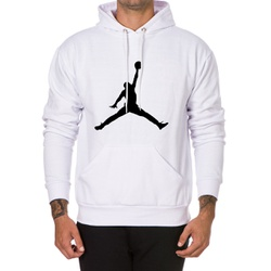 Moletom Masculino Jordan - Branco - Top Franca Shoes | Calçados confortáveis em Couro