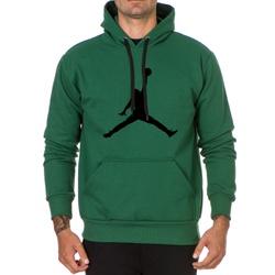 Moletom Masculino Jordan -Verde - Top Franca Shoes | Calçados confortáveis em Couro