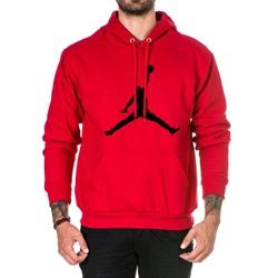 Moletom Masculino Jordan -Vermelho - Top Franca Shoes | Calçados confortáveis em Couro