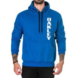 Moletom Masculino Oakley - Azul Escuro - Top Franca Shoes   Calçados confortáveis em Couro