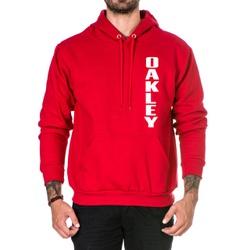 Moletom Masculino Oakley - Vermelho - Top Franca Shoes   Calçados confortáveis em Couro