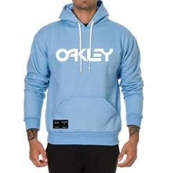Moletom Masculino Oakley - Azul - Top Franca Shoes | Calçados confortáveis em Couro