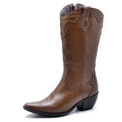 BOTA FEMININA COUNTRY BICO FINO TOP FRANCA SHOES C... - Top Franca Shoes | Calçados confortáveis em Couro