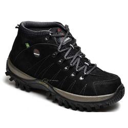 TÊNIS COTURNO ADVENTURE MASCULINO BERGALLY PRETO - Top Franca Shoes | Calçados confortáveis em Couro