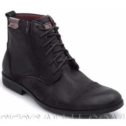 COTURNO CASUAL RÚSTICO MASCULINO PRETO - Top Franca Shoes | Calçados confortáveis em Couro