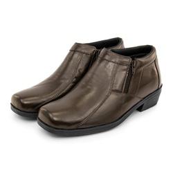 Bota Botina Masculino Top Franca Shoes Café - Top Franca Shoes | Calçados confortáveis em Couro