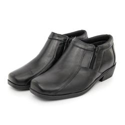 Bota Botina Masculino Top Franca Shoes Preto - Top Franca Shoes | Calçados confortáveis em Couro